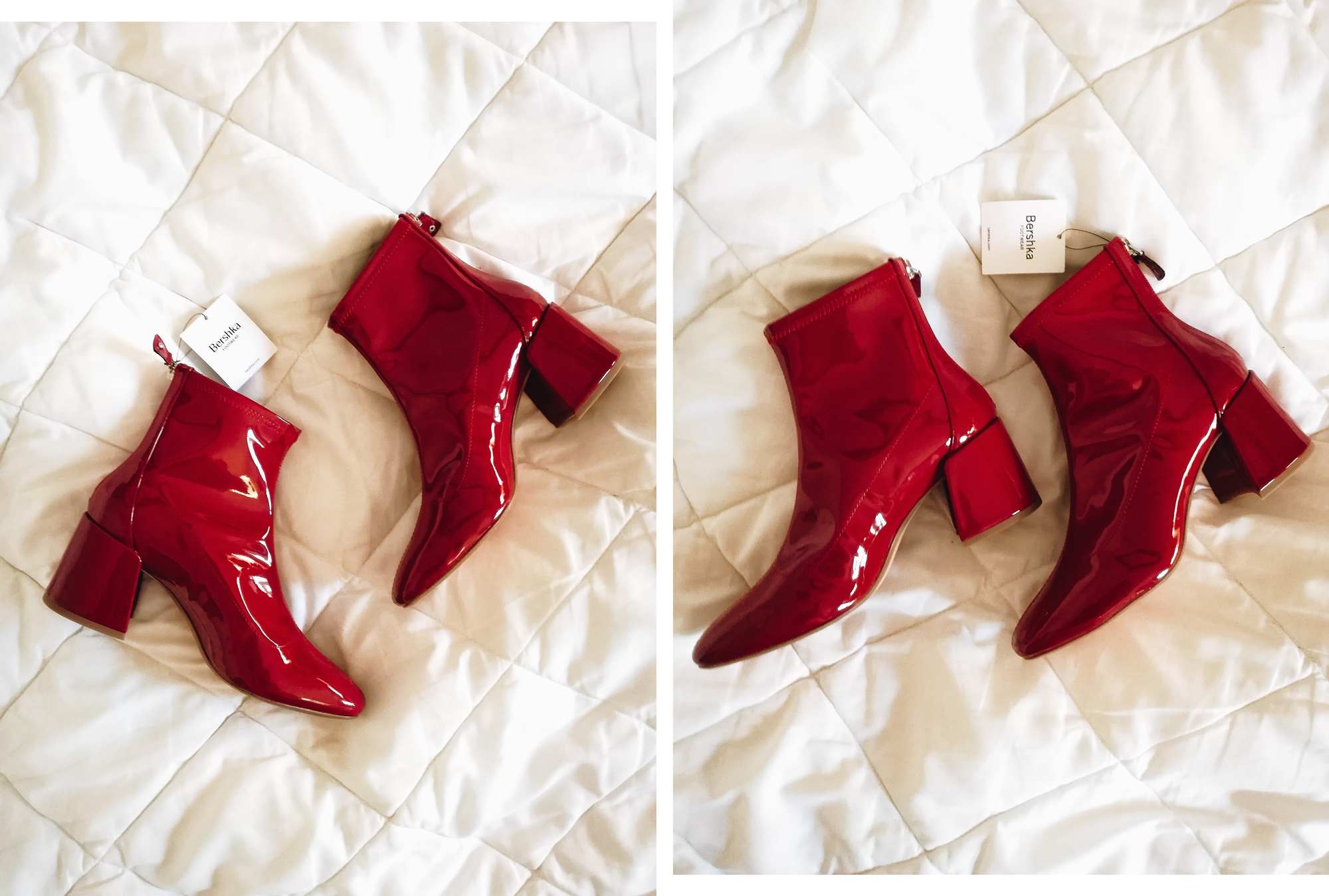 New in | Red Vini Boots from Bershka