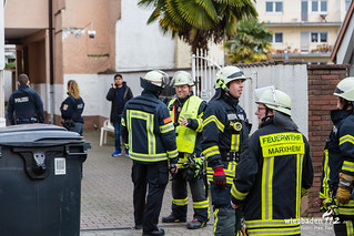 Feuer Asylunterkunft Hofheim Marxheim 29.01.2018