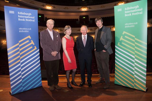 Alexander McCall Smith, Rosemary Goring, Alan Taylor and Ian Rankin