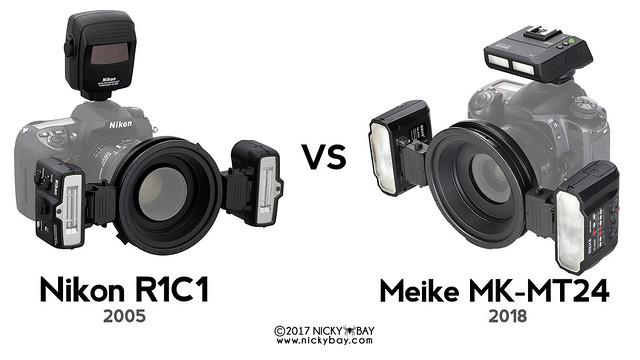 Meike MK-MT24 vs Nikon R1C1