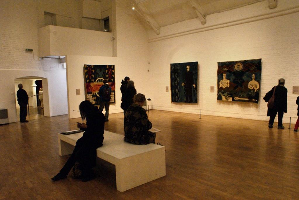 Exposition au Modern Art Oxford.