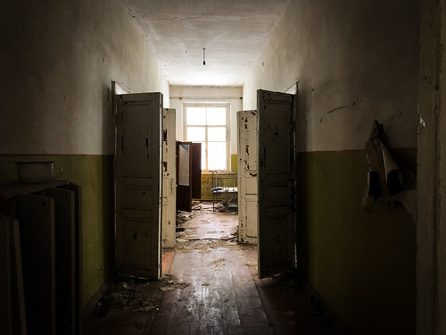 Abandoned kindergarten in Chernobyl