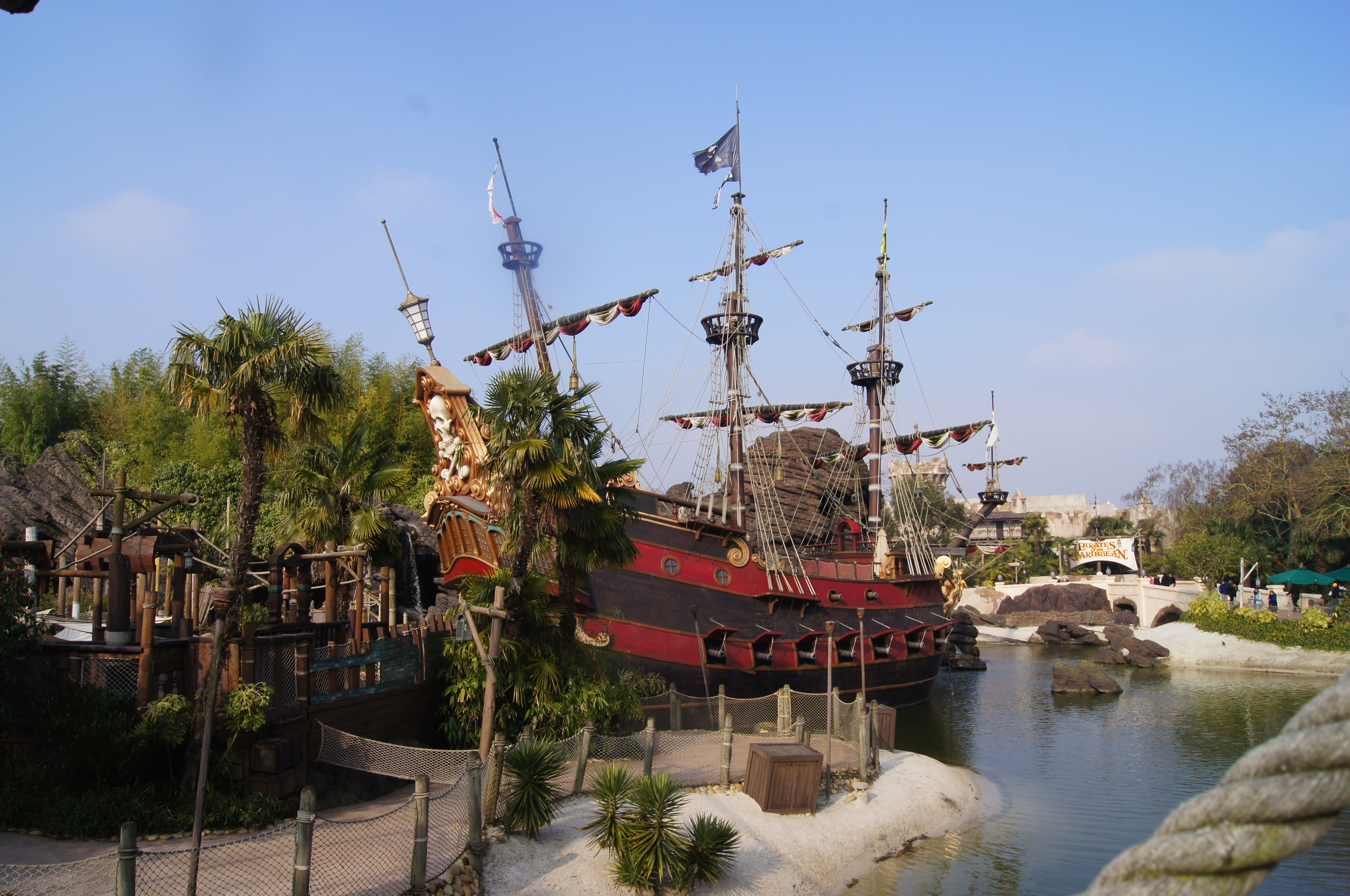 Disneyland Paris Trip - pirate ship