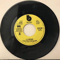 WAR:L.A. SUNSHINE(RECORD SIDE-A)