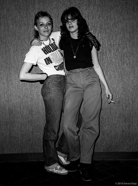 Go Go's Fans. circa 1981. ©2018 Steven  Karp.