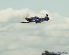 Soaring P-51D in
