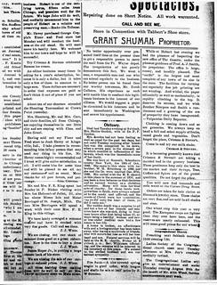 2018-01-30. 1891-08-07 Gordon, Hettie (Rifenburg) obit - Hobart Gazette