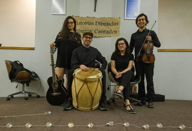 Presentación Musical Historias dibujadas, dibujos cantados