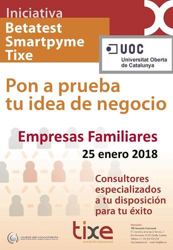 Jornada Innovación y Relevo Generacional en Empresas Familiares, organizado por Tixe, Asociación Empresarial