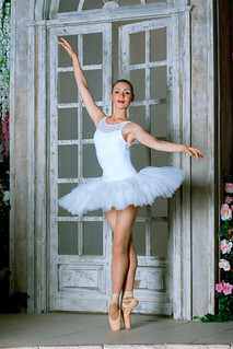 Ballerina - storm of femininity and sexuality