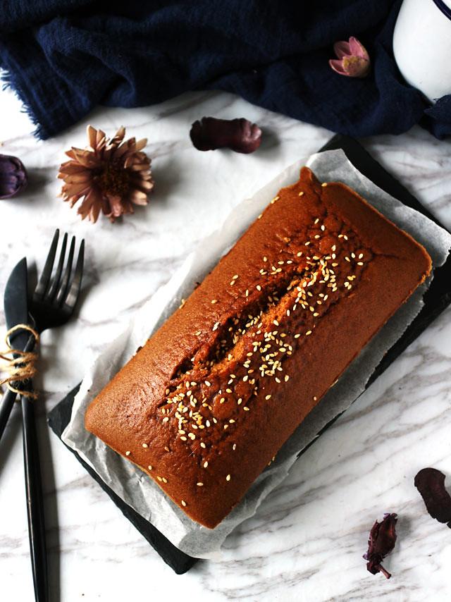 全素無麵粉黑糖糕 vegan-brown-sugar-cake (1)