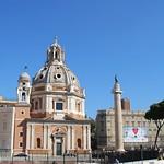 Iglesia de Santa María de Loreto y Columna de Trajano (Roma, Italia, 13-10-2017) - https://www.flickr.com/people/26119068@N03/