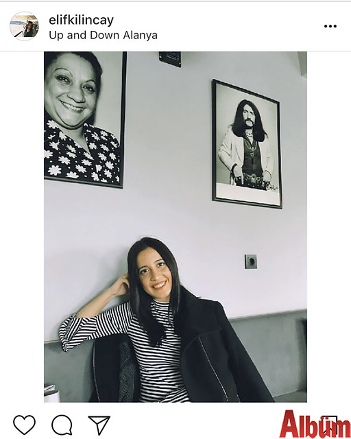 Elif Kılınçay, Up And Down Kafe'nin nostalji köşesinden bu fotoğrafı paylaştı.
