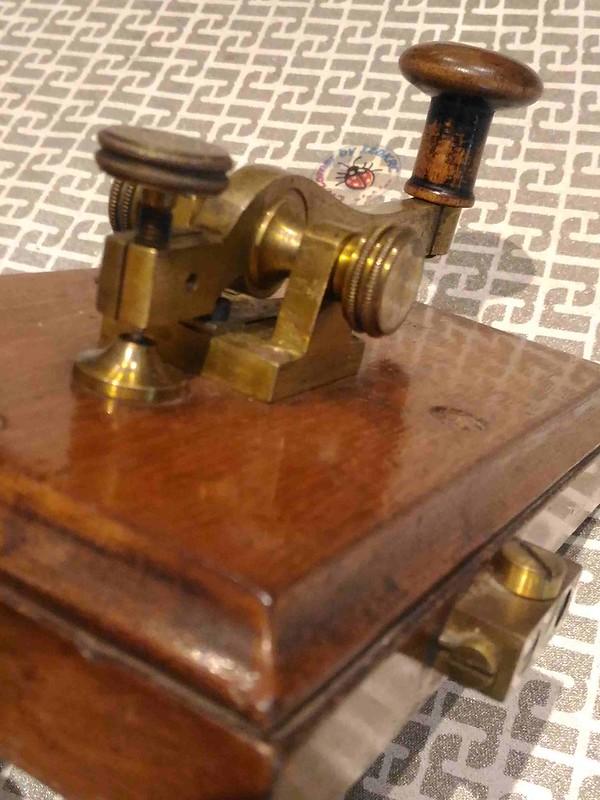 Kapsch & Shone Camelback key_P Lever