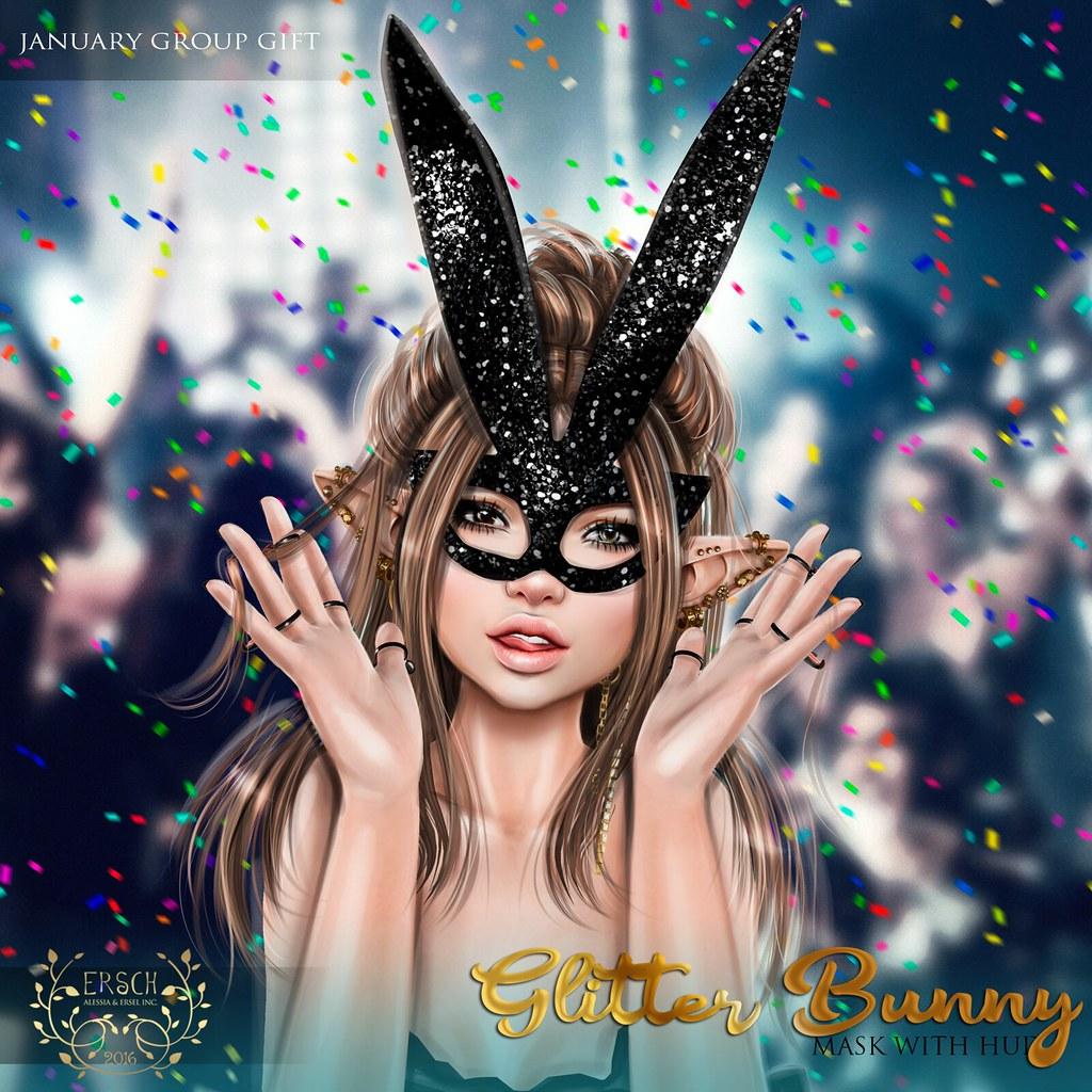 ERSCH – Glitter Bunny