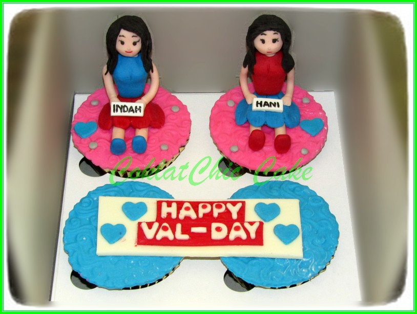 Cupcake set VAL-DAY