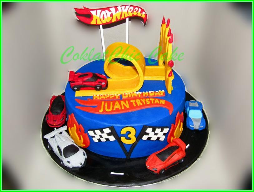 Cake HotWheels JUAN TRYSTAN 20cm