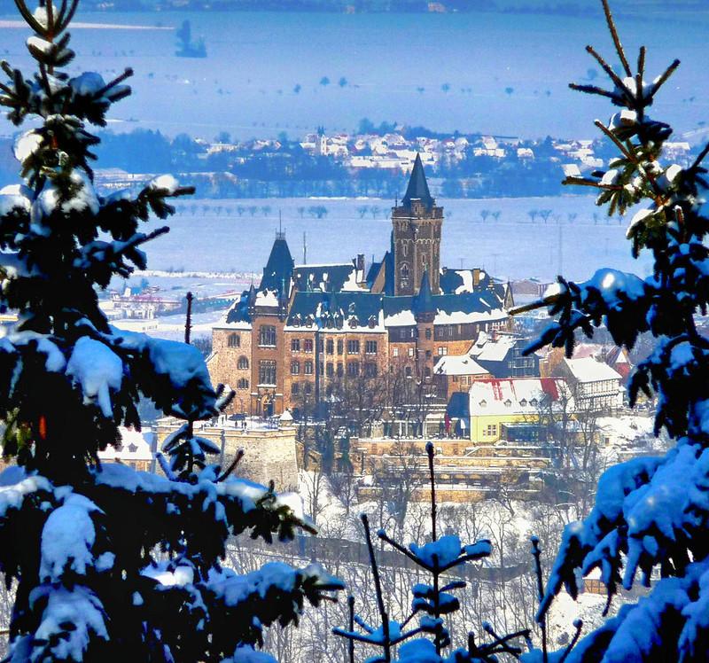 Wernigerode Castle. Credit schwientek