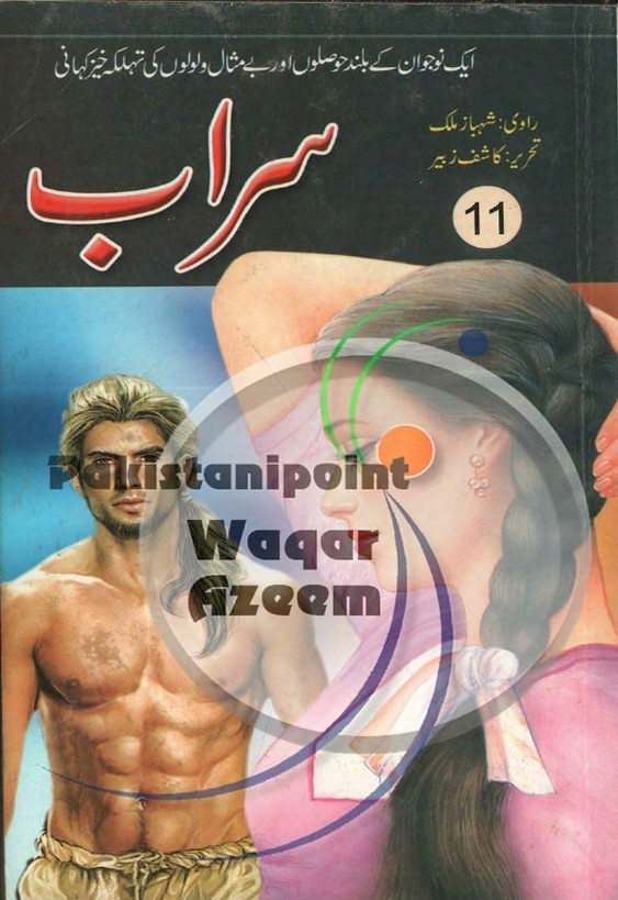 Sarab Part 11  is a very well written complex script novel which depicts normal emotions and behaviour of human like love hate greed power and fear, writen by Kashif Zubair , Kashif Zubair is a very famous and popular specialy among female readers