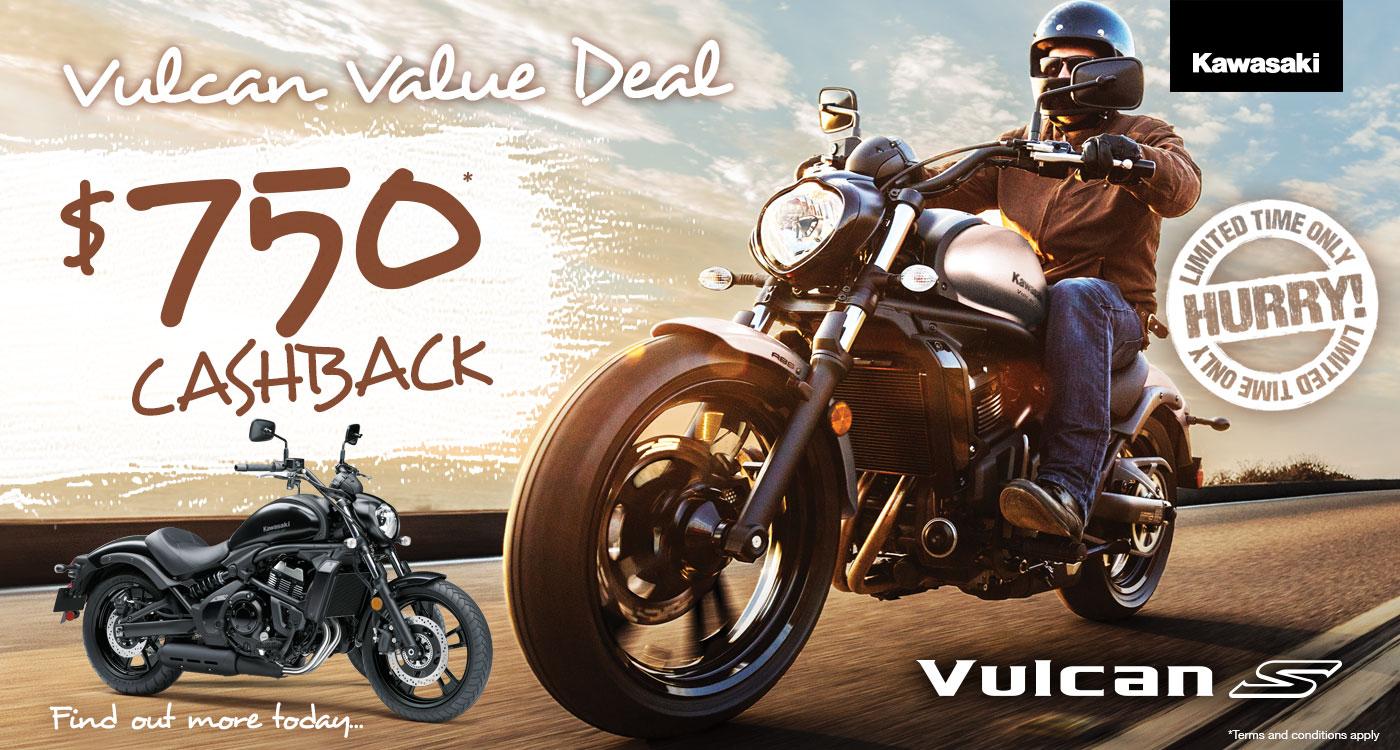 Vulcan S Value Deal $750 Cashback