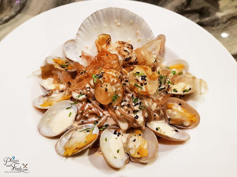 tokyo secret mid valley scallop pasta