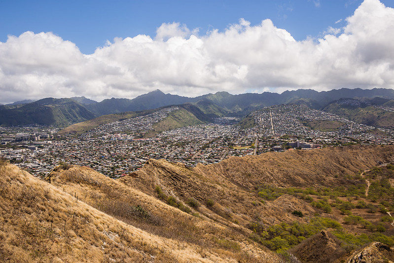 Diamond Head - Honolulu -Oahu - Hawaii