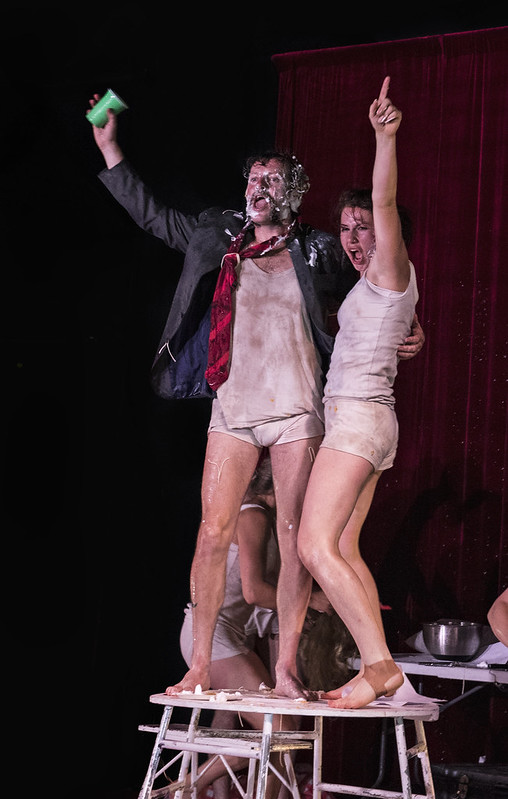 Fringe Festival 2018; Tumble Circus; Unsuitable