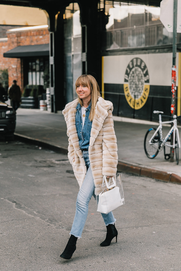 Best Street Style at New York Fashion Week Fall 2018 trend street style fashion outfit 20185