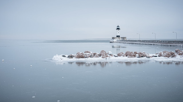 Canal Park, Duluth 2/22/18 #winter #lakesuperior