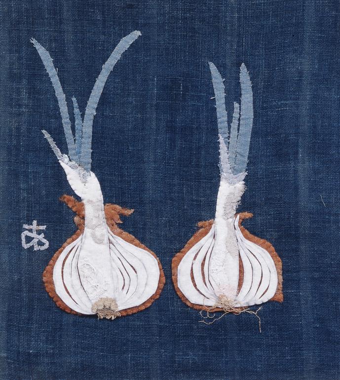 《切った玉ねぎ》(1965年、豊田市美術館蔵)