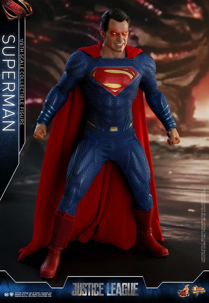 這個世界需要超人,這個團隊需要克拉克!Hot Toys - MMS 465 - 《正義聯盟》超人 Justice League Superman 1/6 比例人偶作品
