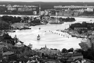 Nybroviken and Gröna Lund, Stockholm