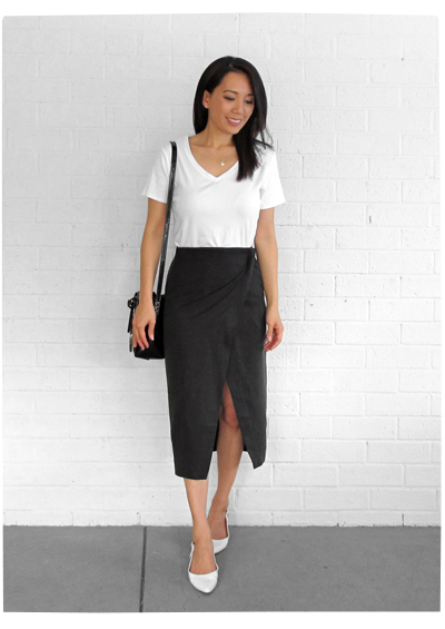 Grana Tencel Skirt