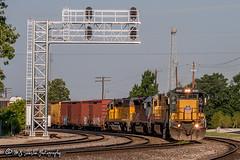 UP 9082 | GE C41-8 | UP Memphis Subdivision