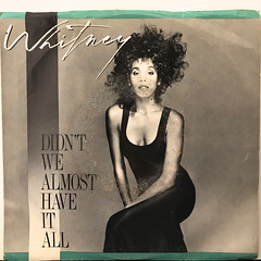 WHITNEY HOUSTON:DIDN'T WE ALMOST HAVE IT ALL(JACKET A)