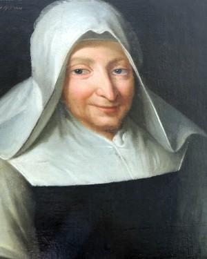 Marie Poussepin retrato