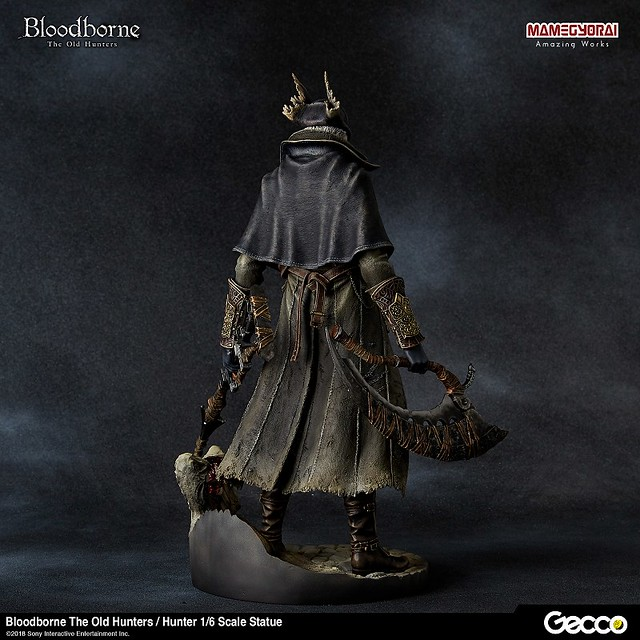雕像也要來個DLC!Gecco《血源詛咒》獵人 1/6比例雕像 遠古獵人ver. Bloodborne The Old Hunters / 狩人 1/6 スケール スタチュー