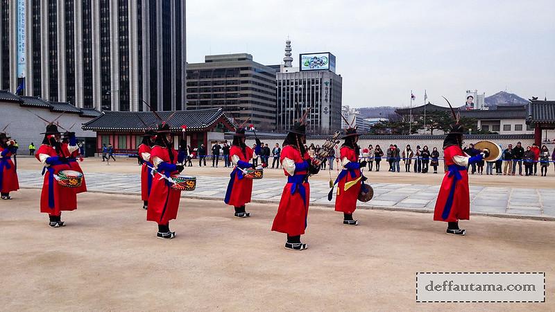 5 hari di Seoul - Guard Changing Ceremony 2