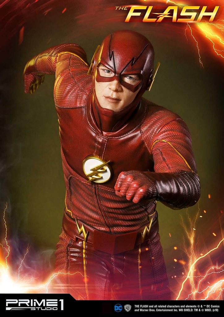 「我是貝瑞·艾倫,我是世界上最快的人!」Prime 1 Studio DC Comics TV Series《閃電俠》閃電俠 DCコミックスTVシリーズ フラッシュ MMDCTV-01EX 1/3 比例全身雕像作品