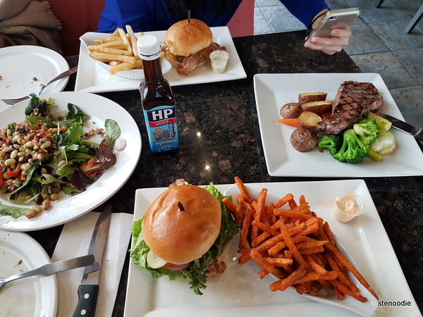 Symposium Cafe food