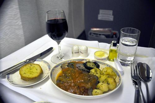 Emirates dinner
