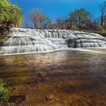 Mon, 04/27/2015 - 12:00am - Richmond Indiana's Thistlewaite Falls cascades over rocky ledges.