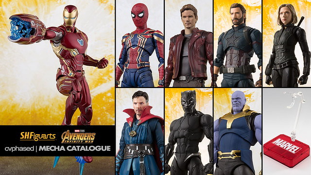 "S.H.Figuarts ""AVENGERS Infinity War"" Solicitations"