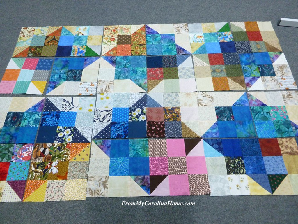 California Fire Quilt Project at From My Carolina Home