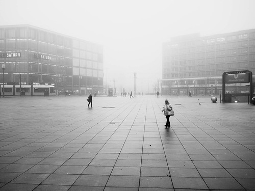 Nebel in Berlin