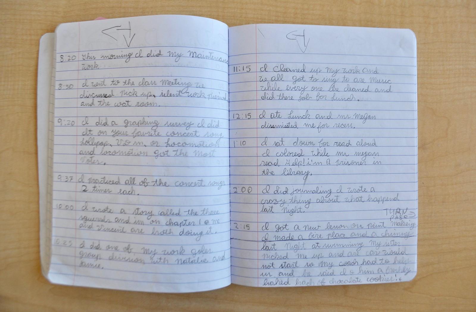 the work journal villa di maria montessori school blog