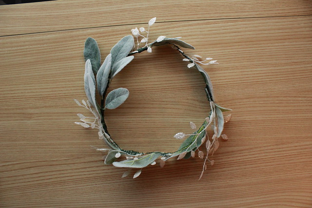 Floral Crown step by step