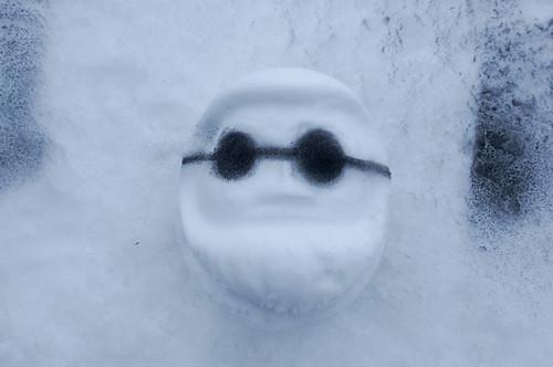 雪だるま弁当