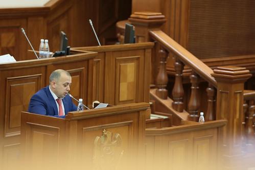 08.02.2018 Ședința Parlamentului Republicii Moldova