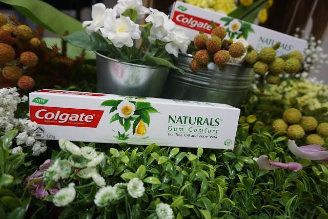 Advertorial COLGATE NATURALS